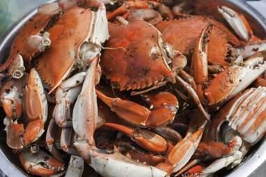 alaskan crab at the flatiron hotel