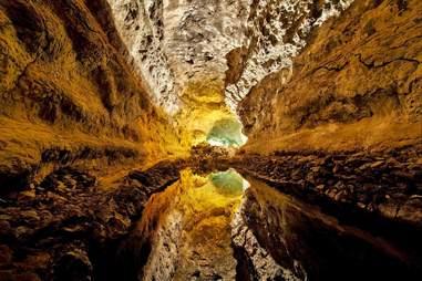 The Canary Island's Cueva de los Verdes