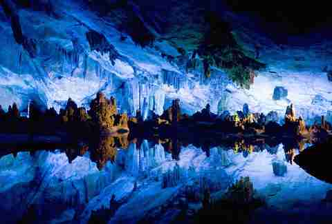the reed flute caves china