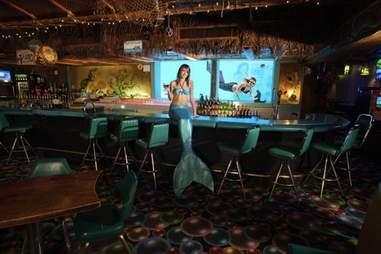 mermaid at bar