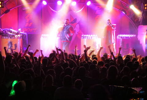 ICP onstage