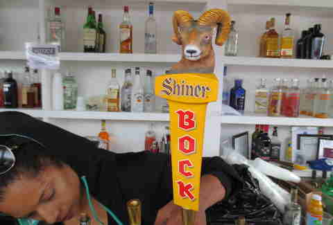 Shiner Bock at The Lone Star Chili Cook Off