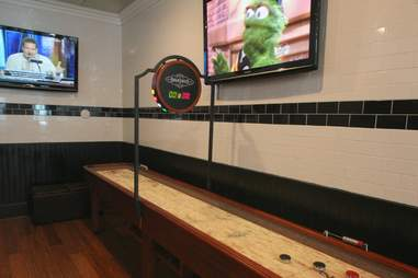 Shuffleboard at Umami Burger Mami