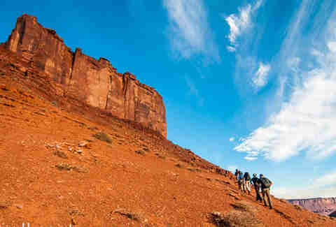Moab B.A.S.E Adventures Inset Hike