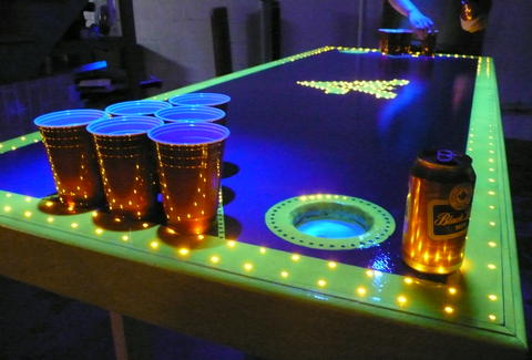 WVU Beer Pong Table