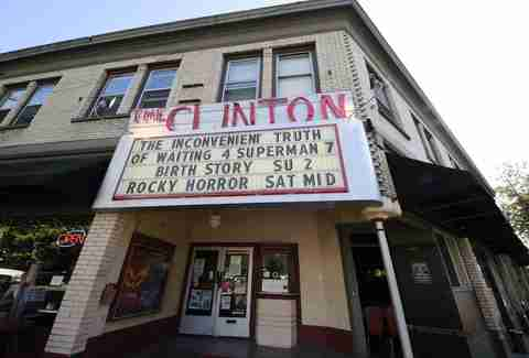 Clinton Street Theater in Portland