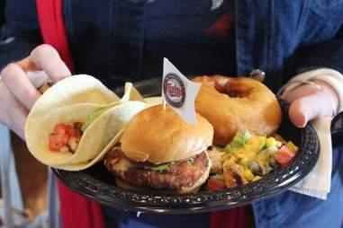 Food Network eats at Target Field