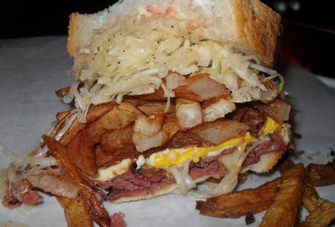 Primanti Bros sandwich at PNC Park