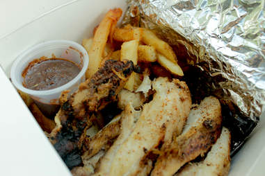 Jerk chicken from Jerk Jamaican food truck