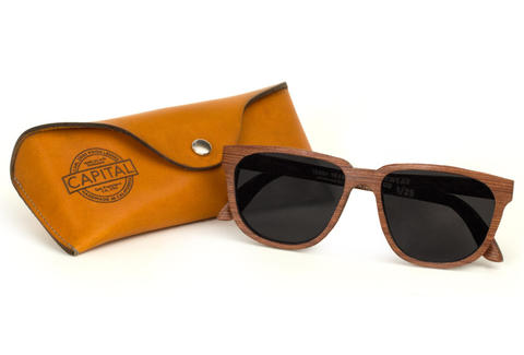 Redwood sunglasses with case