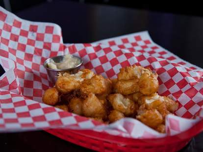 Lost Lake Cafe Beecher's Fried Cheese Curds