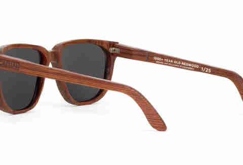 Redwood sunglasses rear/side view