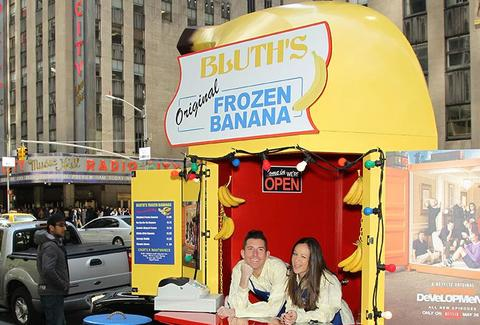 Bluth Frozen Banana Stand at Radio City