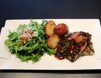 Glazed Mahi Mahi at Mingo Kitchen & Lounge