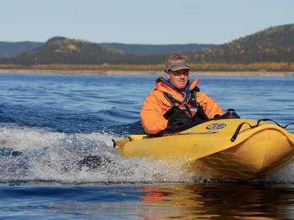 Mokai ES jet-powered kayak