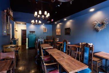 Dining room at Bronwyn
