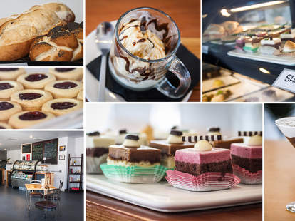 Pastries and desserts at Piacere Mio in San Diego