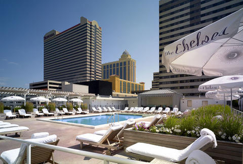 A pool in Atlantic City