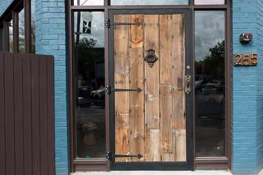 Front door at Bronwyn