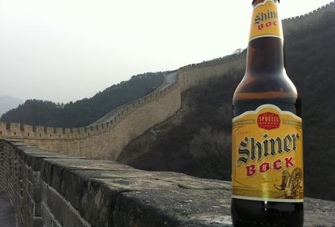 Shiner Bock in China