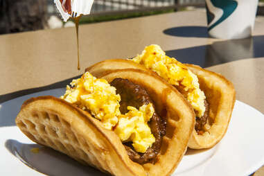 Taco Bell Waffle Taco