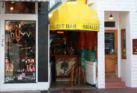 Smallest Bar in Key West, Florida