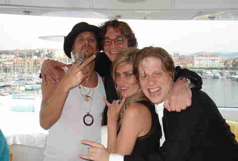 Jake Szufnarowski, Kid Rock, Paul Shapiro, and May Anderson
