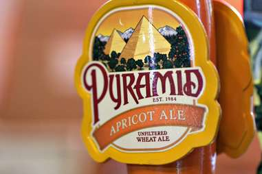 Pyramid Brewery's Apricot Ale