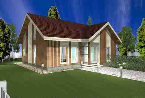 two bedroom Glog Home house