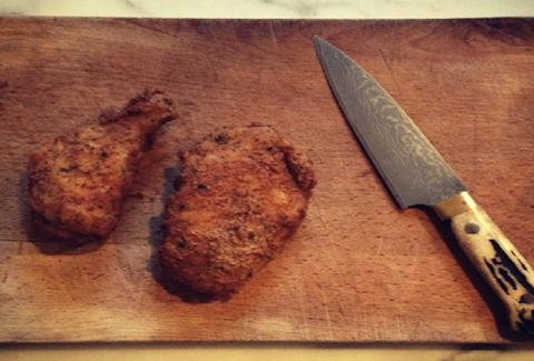 Fried chicken at the Moral Fox