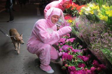 Pink Bunny, East Village