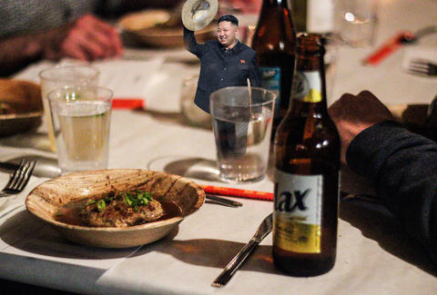 Dinner Lab: North Korea - Secret North Korean Dinner by Chef Jae