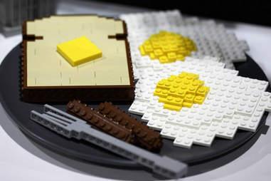 Lego Toast and Eggs