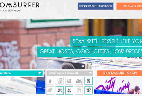 Roomsurfer Search Page