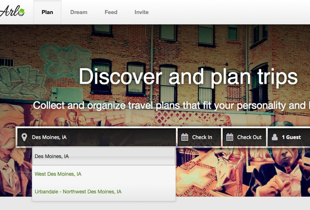A search engine that actually customizes trips to your personality