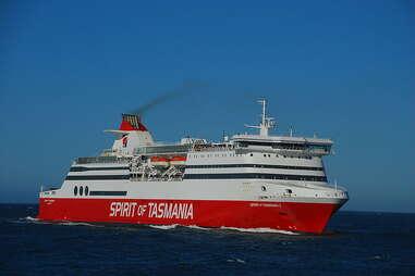 Spirit of Tasmania ship
