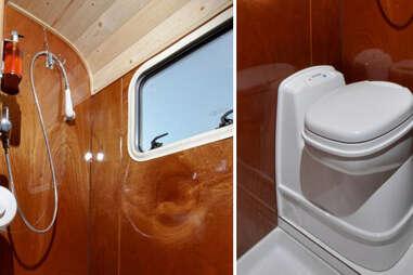Tonke Fieldsleeper 1 Camper Bath & Shower