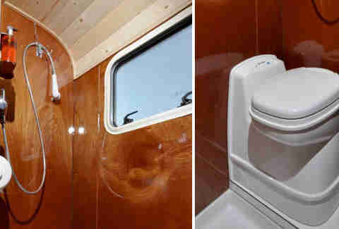 Tonke Fieldsleeper 1 Camper Bath & Shower