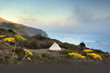 Treebones Resort Big Sur Tent