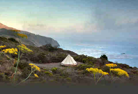 Treebones Resort Big Sur Tent