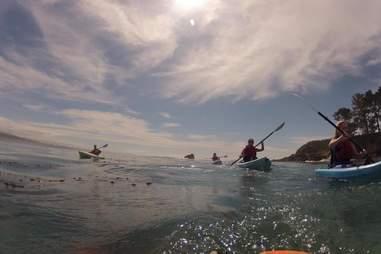 Treebones Resort Big Sur Kayak