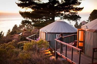 Treebones Resort Big Sur Yurt 2