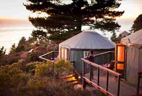 Treebones Resort Big Sur Yurt 2