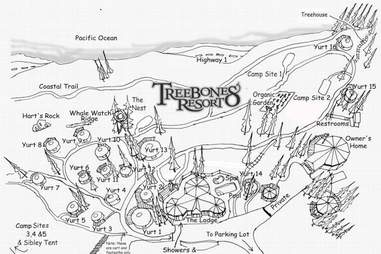 Treebones Resort Big Sur Map