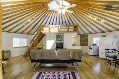Yurt Living How Much Does It Cost To Stay In Yurt Homes Thrillist Nation A typical modest yurt can cost anywhere from $5,000 to $10,000 to construct. yurt living how much does it cost to