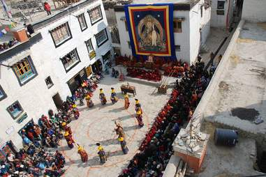 Lo Manthang Square