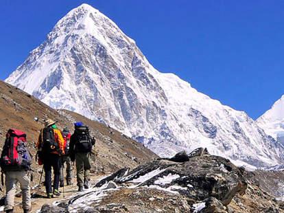 Nepal Himalayas trek