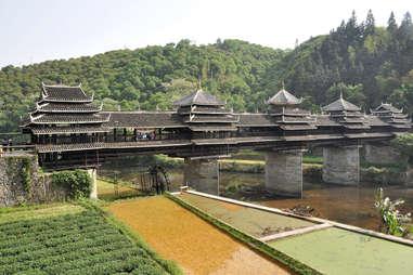 Wind and Rain Bridge, China