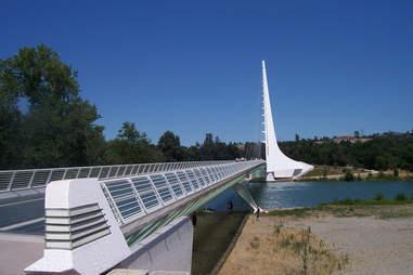Sundial Bridge, California