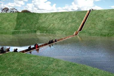 Moses Bridge, The Netherlands